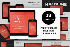 Website / App Portfolio Template
