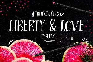 Liberty & Love Font Typeface