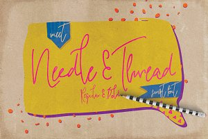 Needle & Thread Font Family