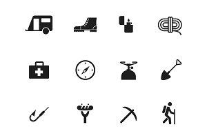 12 Adventure Icons