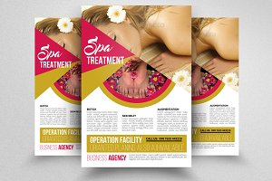 Spa & Body Care Center Flyer