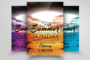 Summer Fun Flyer & Poster