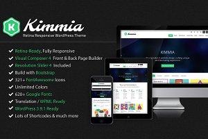 Kimmia - Responsive WordPress Theme