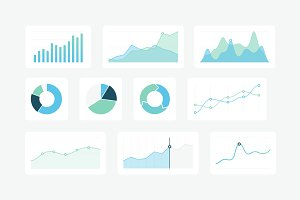 21 Vector Graphs & Charts (SVG)
