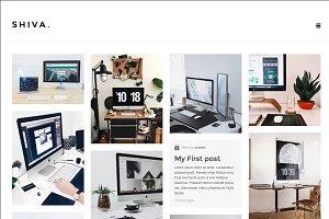 Shiva - Portfolio & Blog Theme