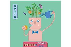 Enrich brain ,enrich life