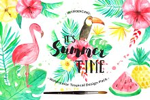 Summer Tropical Design Pack Vol.2