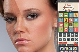 Beauty Retouching Kit Pro