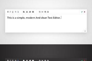 Text Editor PSD