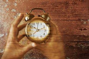 Alarm Clock with Hands