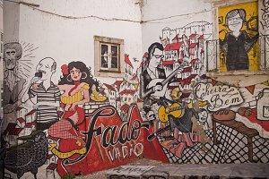 Grafitti in Lisbon