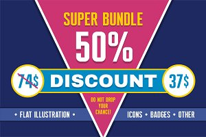 Super Bundle - 50% Discount!