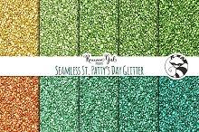 Seamless St Patty's Day Glitter