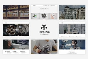 Manhattan - Multi-Purpose HTML5