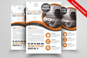 Business Dealing Flyer Template
