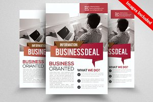 Corporate fieldFlyer Template