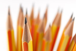 Pointed Pencil in focus