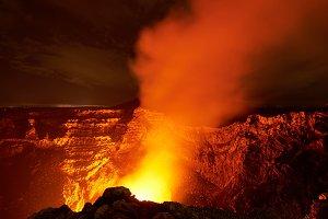 Masaya crater