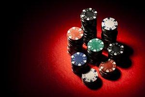 Gambling coins focused
