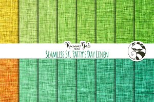 Seamless St. Patty's Day Linen