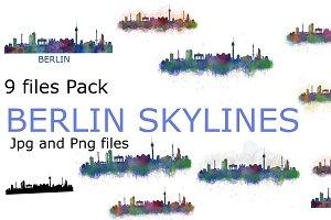 19 files pack. Berlin city skylines