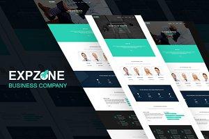 Ezone- HTML5 Resposive Ladingpage