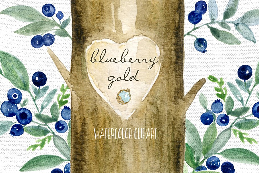 blueberry clipart.html