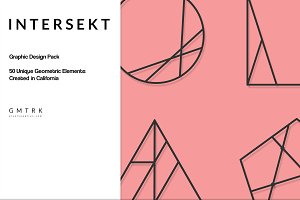 Intersekt Geometric Design Kit