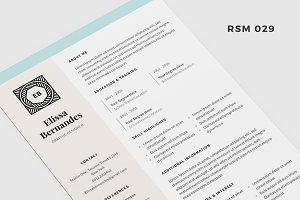 "Resume Template - ""Luna"""