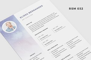 "Resume Template - ""Dream"""