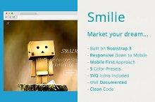 Smilie - App Landing Page