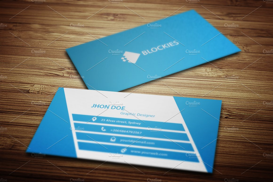 Business Card Template Uk