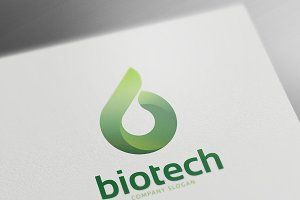 Bio Technology Logo