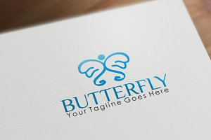 Butterfly | Logo Template