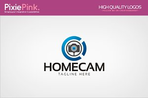 Home Camera Logo Template