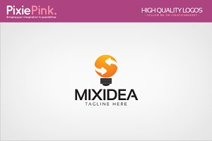 Mix Idea Logo Template