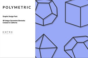 Polymetric Geometric Design Kit