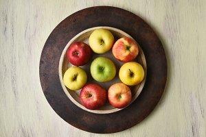 Apple Bowl Still Life