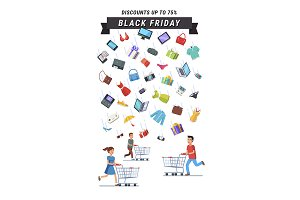 Black Friday Sale advert banner