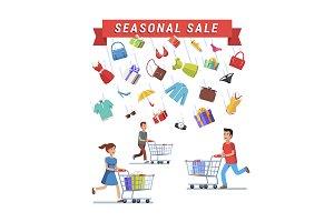 Seasonal Sale advert banner