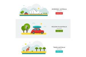 Travell Roads in Australia