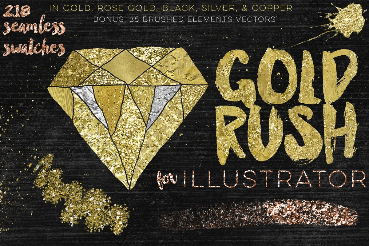 Gold Rush For Illustrator ~ Illustrator Add-Ons ~ Creative