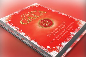 Holiday Gala Christmas Invitation