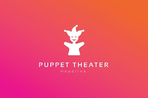 Puppet theater logo.