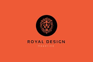 Royal design logo.
