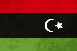 True proportions Libya flag
