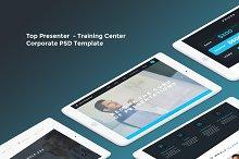 Top Presenter - Training Center PSD