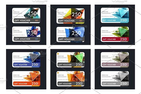 Template gift voucher Vol.7 - Business Cards
