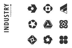 Industry Icon Set №2