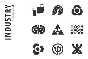 Industry Icon Set №3